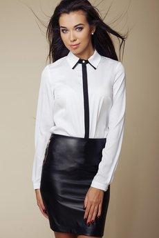 ABG - Czarna spódnica z dwoma zamkami