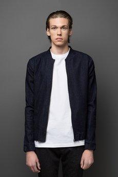 MALE-ME - Bluza jeansowa aka Jeans Bomber Jacket |GRANATOWA| F/W2015