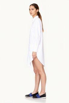 Dirty's Wear - Koszula Long White