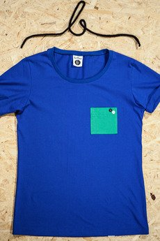 Button - T-SHIRT ONE POCKET TEE UNISEX kolory