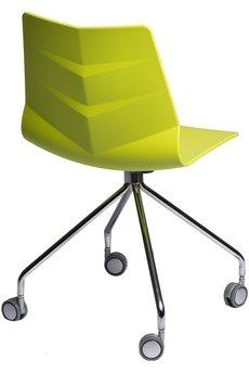MIA home passion - Krzesło Leaf limonkowe