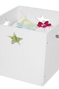 MIA home passion - Pudełko z gwiazdkami białe