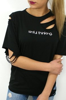 T shirt sinful thinking 61a6a7