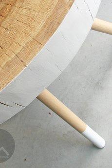 Studio Minimal - Stolik No.2 Pacman Biały