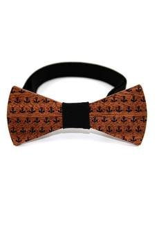 The Bow Bow Ties - Mucha drewniana #8