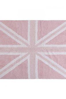 - Dywan bawełniany Flag England Baby Rosa