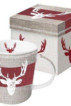 Kubek porcelanowy z jeleniem 81b327