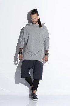 Bluza stretch szara de2127