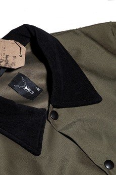 The Hive - COACH JACKET IN OLIVE