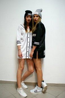 Mar.ska - TUNIKA KOSZULA BLACK&WHITE