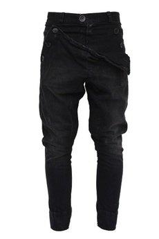 Spodnie madoxy czarne jeansowe 7961d4