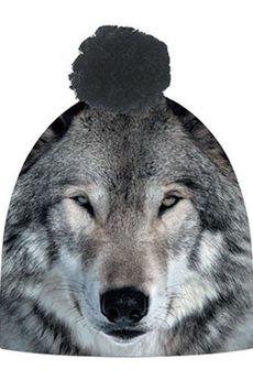 HAUER - Czapka hauer MAGIC WOLF