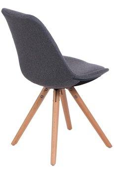 MIA home passion - Krzesło Nord Star pikowane szare