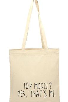 Letter Bag - Top model? Yes, that's me Letter Bag