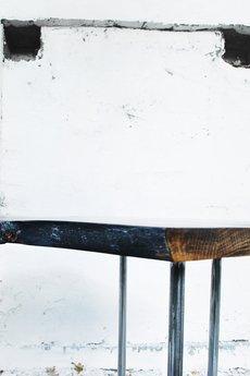 ReNowe Art - Industrialny Stolik Kawowy Z Litego Dębu