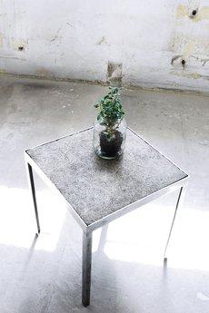 ReNowe Art - Stalowy Stolik Kawowy Z Betonowym Blatem
