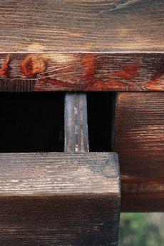 ReNowe Art - Sosnowe Biurko Ze Stalowymi Nogami