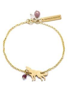 - Bransoletka Animal Kingdom Petite z wilkiem