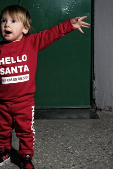 New Kids On The Spot - Bluza reglanowa Hello Santa