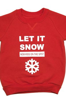 - Bluza reglanowa Let it snow