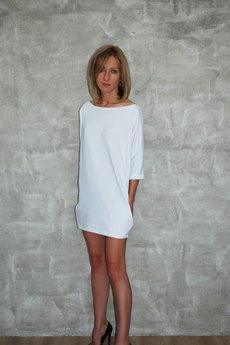 Dresowa sukienka moon biala 8dbb61