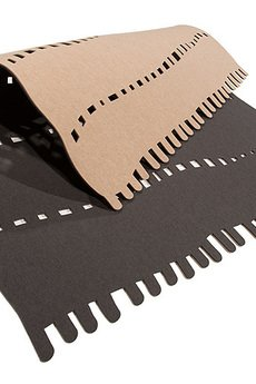 BOOGIE - NUMERO °1 dywan 2-warstwowy z filcu recyklingowego