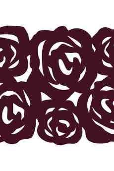 BOOGIE - ROSES kpl. 4 podkładek pod talerz