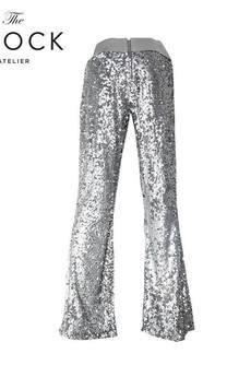 The Frock - Spodnie cekinowe