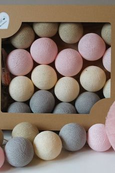 MIA home passion - Cotton Balls Pastelove 20 szt.