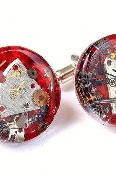 MECHANICAL RED - SPINKI DO MANKIETÓW - 41553
