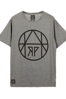 HARP TEAM - T-shirt Circle Gray