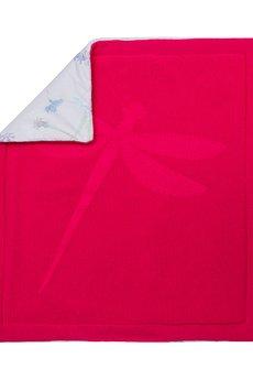 """Monamoon - Kocyk z wypełnieniem """"XS"""" – Różowa Ważka"""