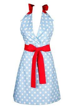 "Apronessa (apron (fartuch) + dress (sukienka) - CHARLOTTE ""GROCHY NA BŁĘKICIE"" - 43020"