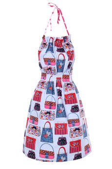 "Apronessa (apron (fartuch) + dress (sukienka) - DIANA ""ELEGANTKA"" - 43021"