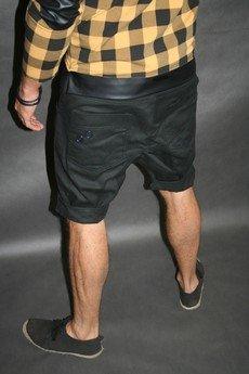 Button - Button drill short pants krótkie spodenki czarne
