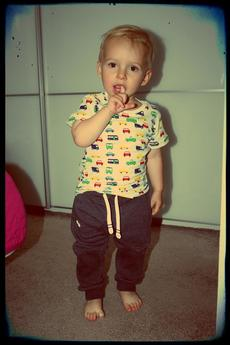 Button - Button - LONG PANTS BUTTON KIDS kolory unisex