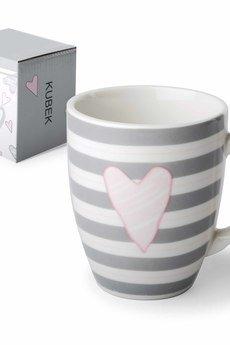 MIA home passion - Kubek ceramiczny w paski