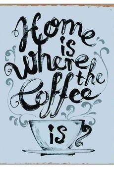 MIA home passion - Szyld dekoracyjny Coffee