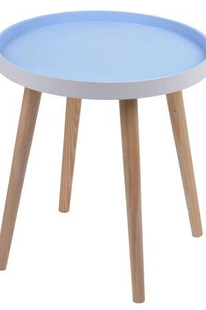 Stolik niebieski mały