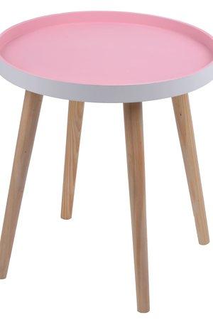 Stolik różowy mały