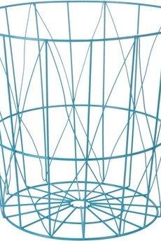 MIA home passion - Koszyk metalowy niebieski