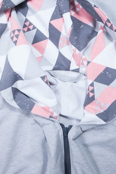 taff.one - Boomber Grey with Triangle