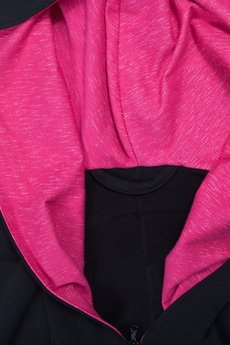 taff.one - Boomber Black with pink