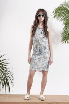 Afriq Password - Sukienka Tropical Palm
