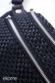 ekorre - czarna plecionka 004