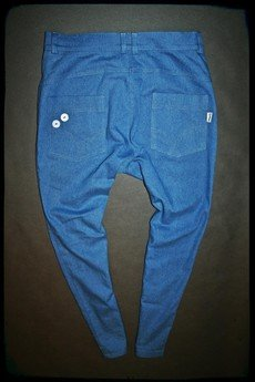 Button - SPODNIE 5 BUTTONS JEANS PANTS UNISEX