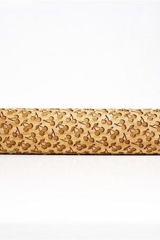 Valek Rolling Pins - WIŚNIE Grawerowany wałek do wytłaczania ciastek