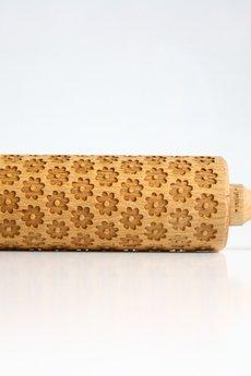Valek Rolling Pins - Stokrotka Rumianek Grawerowany wałek do wytłaczania ciastek