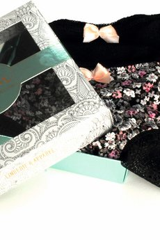 enfin - Bikini FLEUR 2pack z koronkowym tyłem