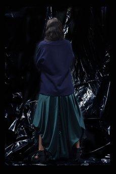 ZWYRD - Satynowa spódnica SLUDGE